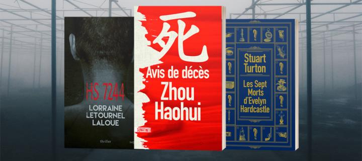 6 romans pour partir à la découverte des nouvelles voix du thriller