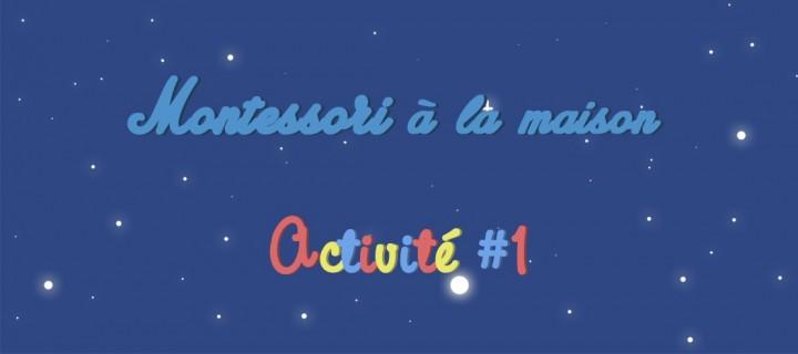 Montessori chez soi : Observer les étoiles