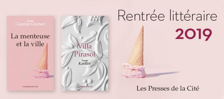 La rentrée littéraire des Presses de la Cité
