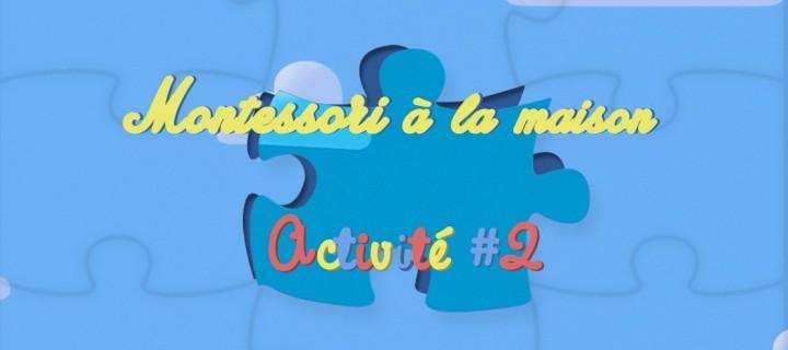 Montessori chez soi : Créer un puzzle