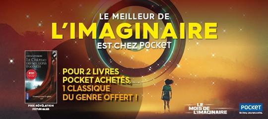 Le meilleur de l'imaginaire est chez Pocket !