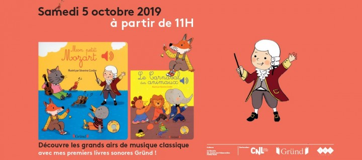 Atelier musical à Paris avec Mes premiers livres sonores