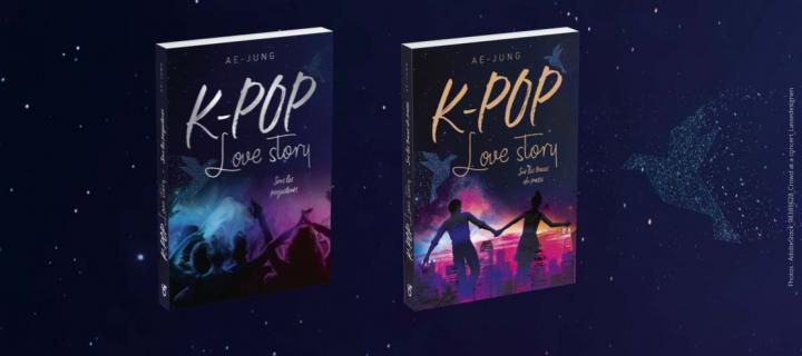 """""""K-pop, Love story"""" : une série de romans addictifs dans les coulisses de la K-pop"""