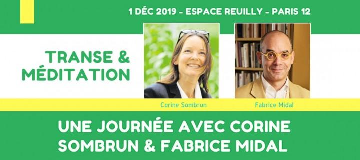 Une journée avec Corine Sombrun & Fabrice Midal