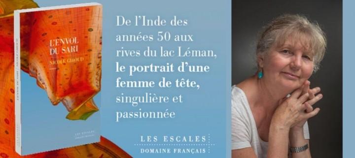 Rencontre et dédicace : Nicole Giroud à la librairie Decitre Annemasse