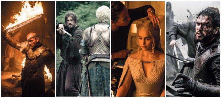 Les coulisses de Game of Thrones selon la photographie de la série
