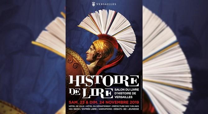 Rencontrez les auteurs Perrin au salon Histoire de lire à Versailles