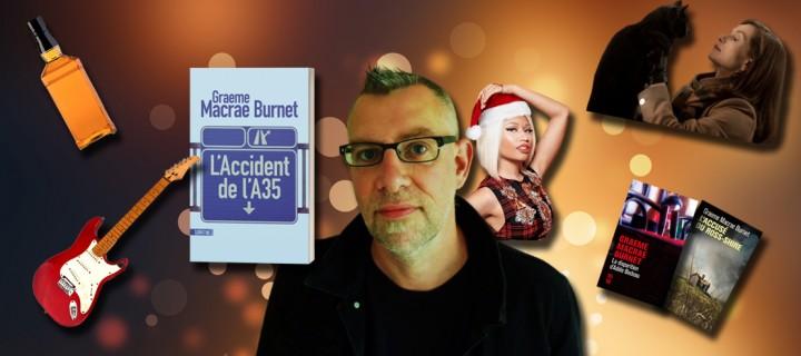 Le Noël des auteurs : 5 questions délicieusement festives à Graeme Macrae Burnet