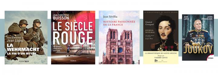 5 beaux livres d'histoire à poser sous le sapin