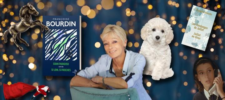 Le Noël des auteurs : 5 questions délicieusement festives à Françoise Bourdin