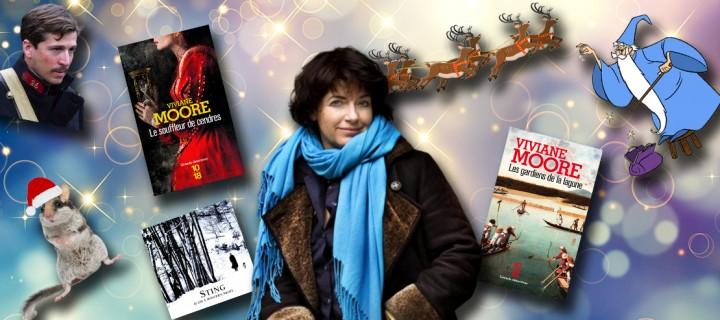 Le Noël des auteurs : 5 questions délicieusement festives à Viviane Moore