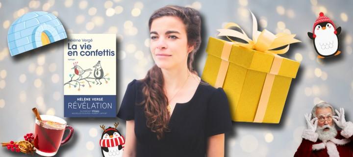 Le Noël des auteurs : 5 questions délicieusement festives à Hélène Vergé