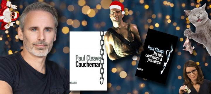 Le Noël des auteurs : 5 questions délicieusement festives à Paul Cleave