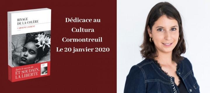 Dédicace : Caroline Laurent au Cultura Cormontreuil à partir de 10h00