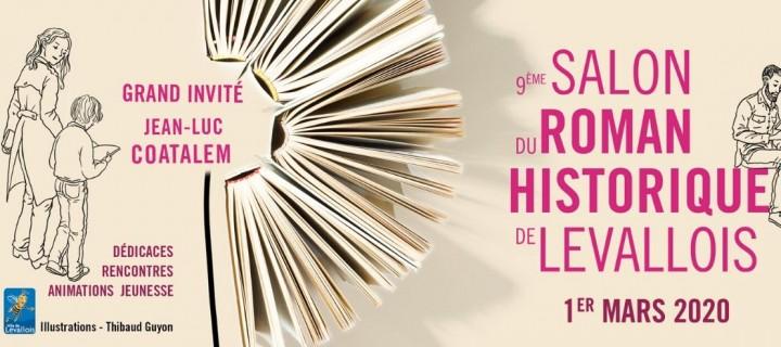 Salon du roman historique de Levallois : tous nos auteurs présents