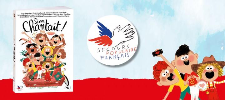 """""""Si on chantait !"""" : la crème de la littérature jeunesse réunie pour un roman solidaire"""