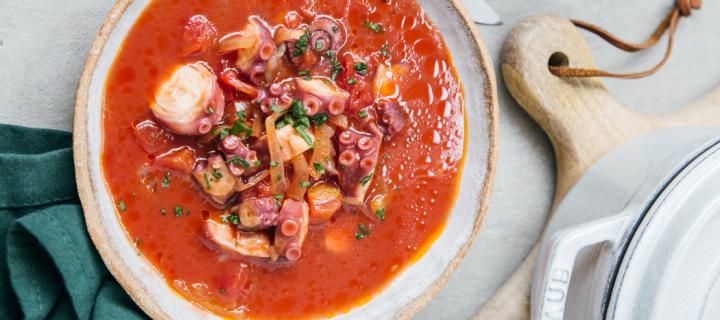 Le ragoût de poulpe, le petit plat mijoté qui réchauffera votre hiver