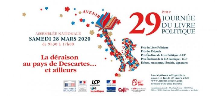 Journée du livre politique 2020 : les auteurs Perrin présents