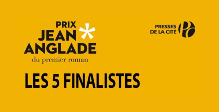 Prix Jean Anglade 2020 : 5 finalistes, 5 histoires uniques