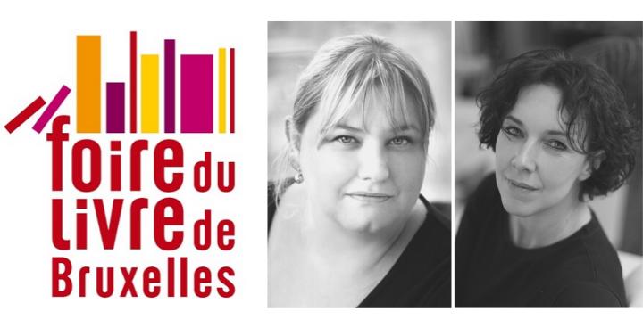 Foire du livre de Bruxelles : rencontrez Karine Giebel et Barbara Abel
