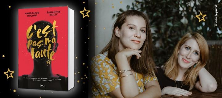 """""""C'est pas ma faute"""" : le roman jeunesse féministe de Samantha Bailly et Anne-Fleur Multon"""
