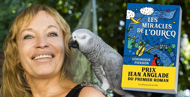 """Véronique Pierron : """"Je remercie Jean Anglade de m'avoir fait vivre une rencontre aussi émouvante"""""""