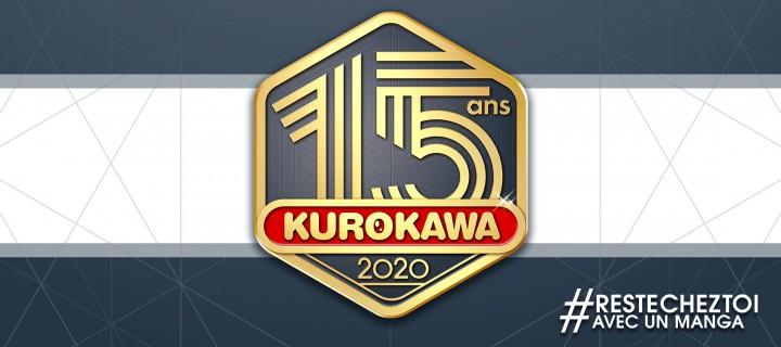 15 séries à découvrir gratuitement  pour les 15 ans de Kurokawa !