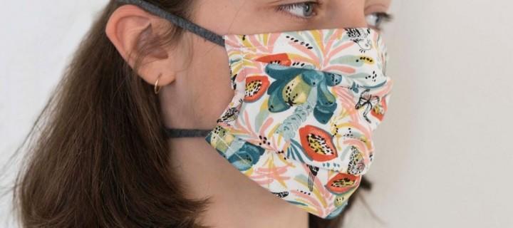 Coronavirus : réalisez vous-même le masque ©Afnor grâce à notre tuto
