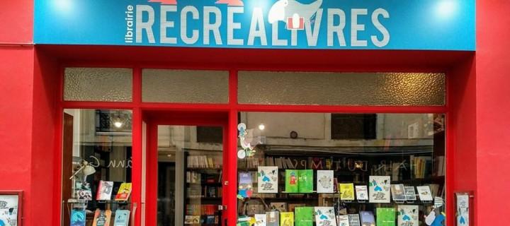 Portraits de libraires : la librairie Récréalivres au Mans