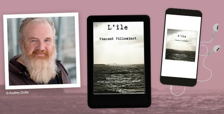 Retour sur le #ManuscritConfiné avec Vincent Villeminot