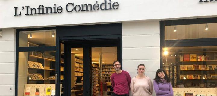 Portraits de libraires : la librairie L'Infinie Comédie à Bourg-la-Reine