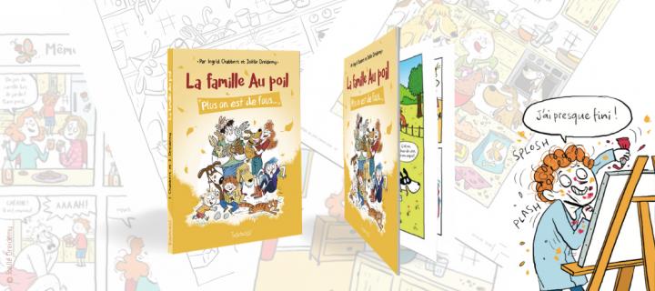 Dans les coulisses de la création d'une BD avec l'autrice, l'illustratrice, la coloriste et l'éditrice