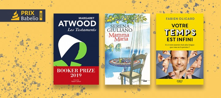 Prix Babelio 2020: trois de nos auteurs parmi les lauréats!