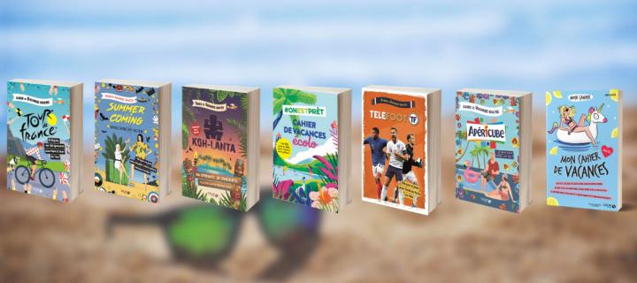 Les cahiers de vacances débarquent : l'été peut commencer !