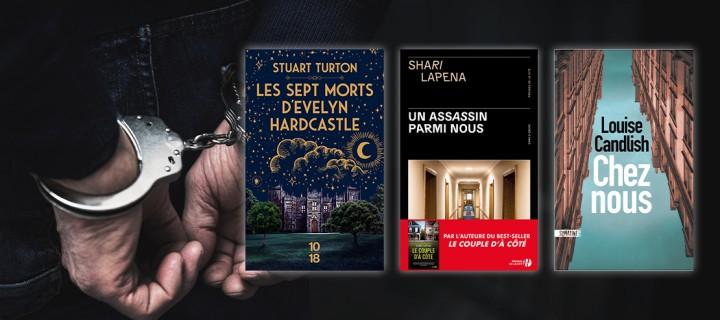 Lectures estivales : 30 romans policiers pour frissonner