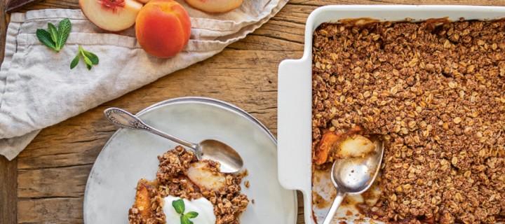 Ma cuisine vegan du soleil : le gratin de fruits d'Eva Gaillot