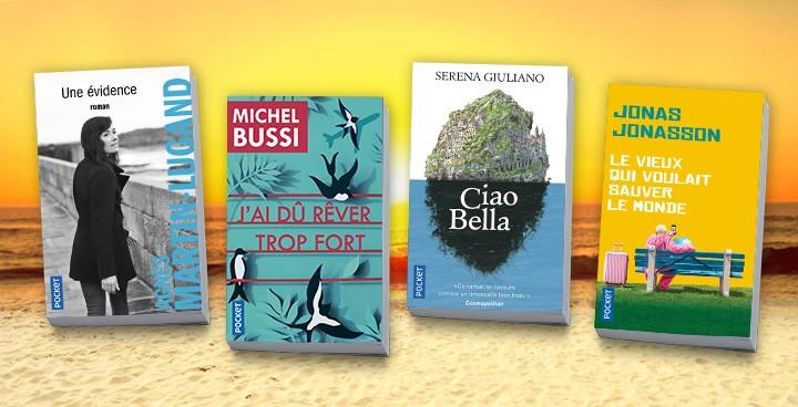 Lectures d'été : 30 livres pour voyager sans quitter son transat !