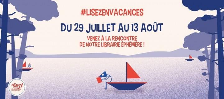 #lisezenvacances : retrouvez notre librairie éphémère sur les routes de France