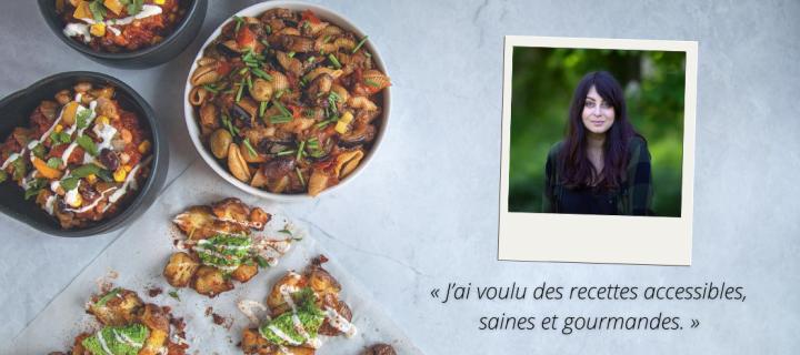 (Re)découvrez la cuisine vegan à petit prix avec Marie Laforêt !