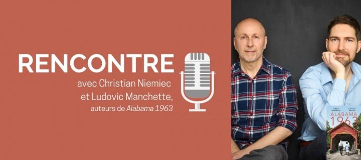 """Ludovic Manchette et Christian Niemiec : """"Nous avions très envie d'écrire une histoire à nous"""""""