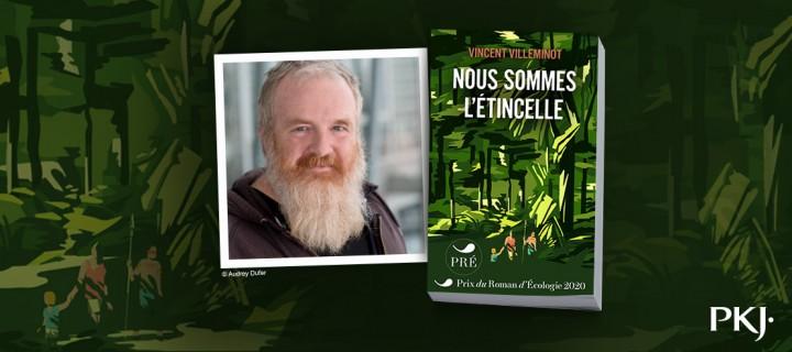 Vincent Villeminot remporte le Prix du Roman d'Ecologie 2020 !