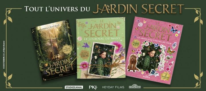 "Linda Chapman cultive le ""Jardin Secret"""