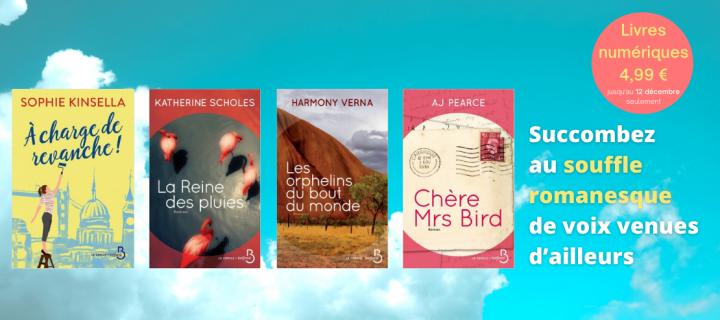 La littérature féminine étrangère nous fait voyager… à petit prix !