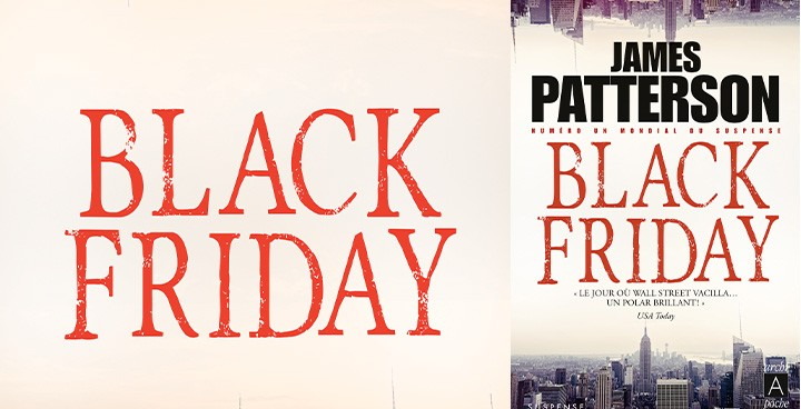 100% frisson pour le Black Friday ?!