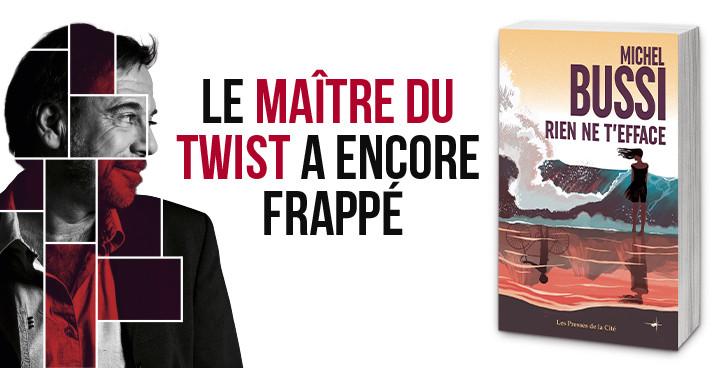 """Trois raisons de lire le nouveau best-seller de Michel Bussi, """"Rien ne t'efface"""""""