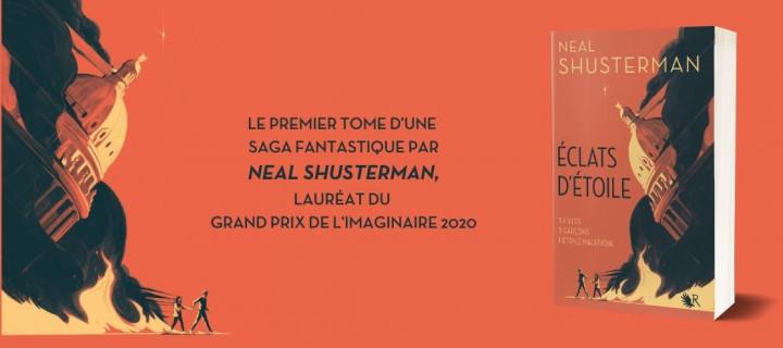 """Neal Shusterman : """"Une histoire qui prouve que, peu importe la gravité du problème auquel tu es confronté, tu peux et tu parviendras à le surmonter."""""""