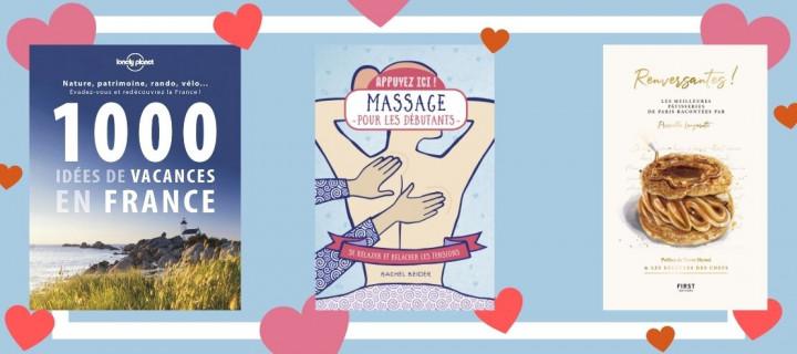 Que faire à la Saint-Valentin ? 10 livres pour une journée inoubliable