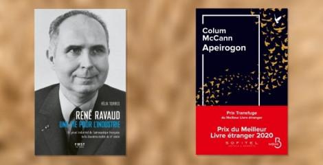 Prix littéraire : deux de nos auteurs récompensés