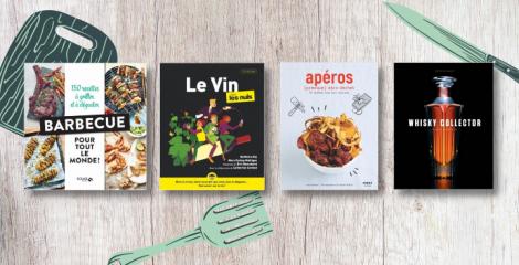 Fête des Père : 12 livres pour les gourmands