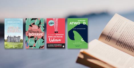 25 romans en petit format à glisser dans votre valise